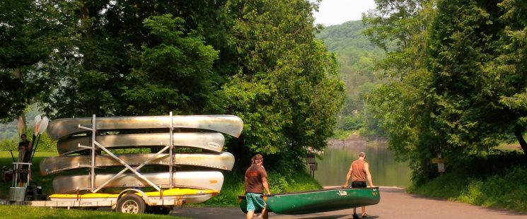 Canoe the St Croix River