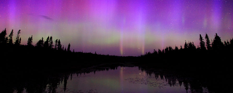 chasing the northern lights in cook county minnesota