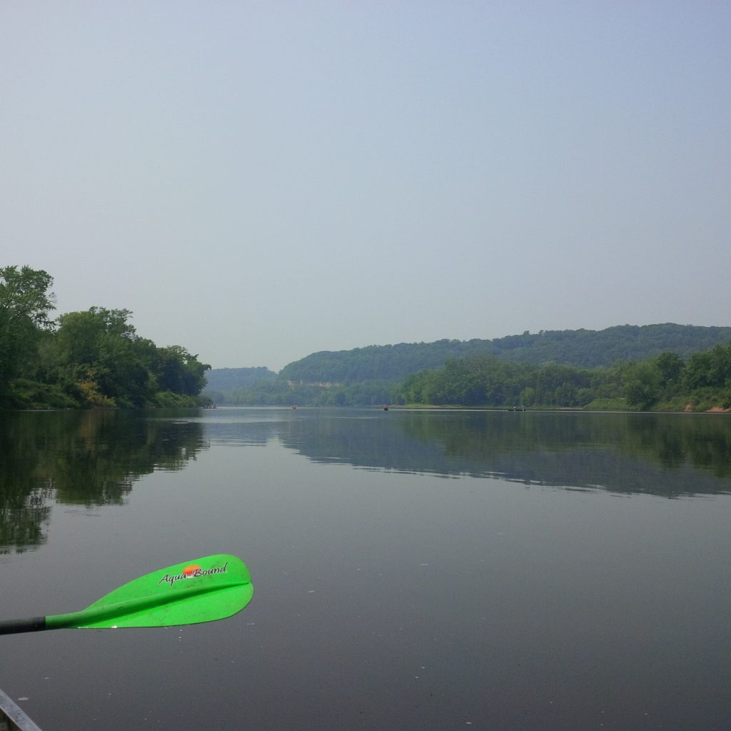 The Gentle Paddle Down The St Croix