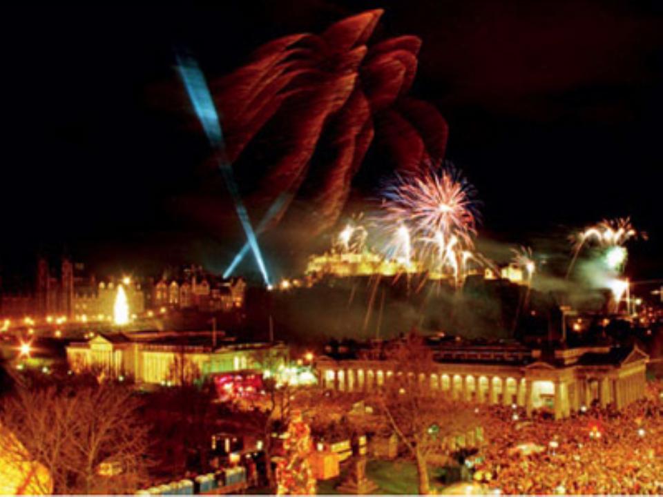 New Year's Eve in Edinburgh