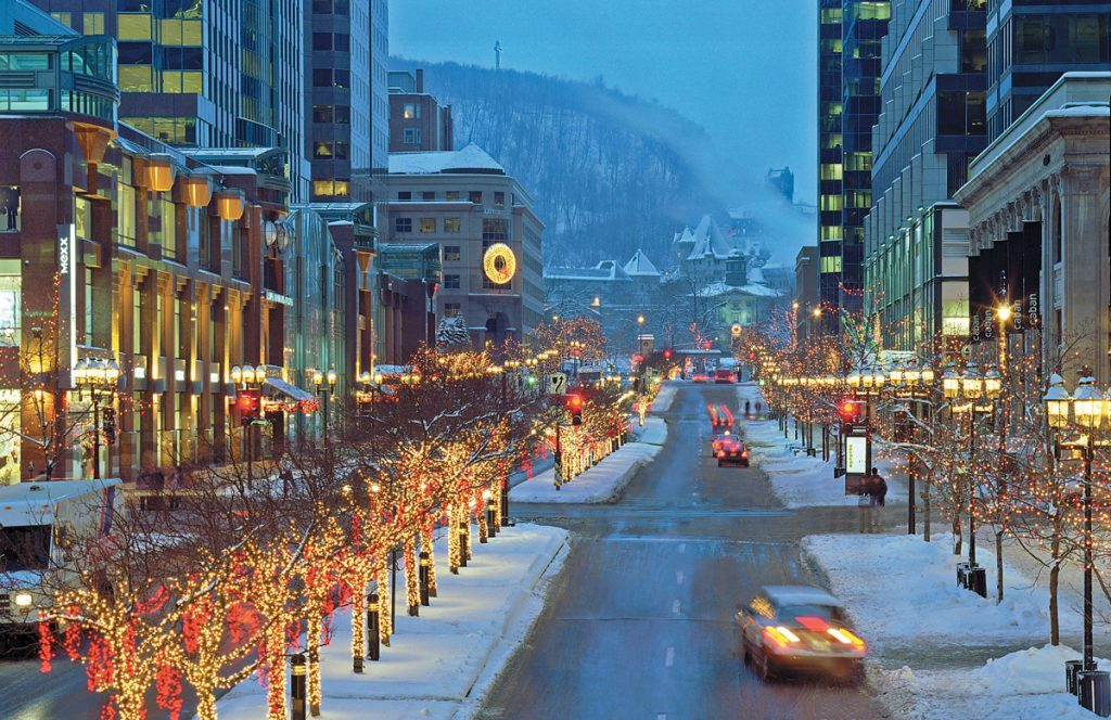 Old Montreal at Christmas