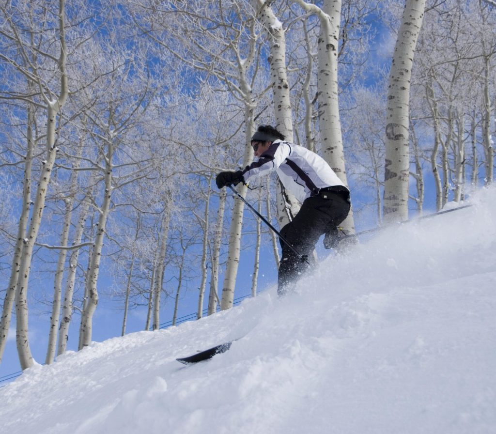 Skiing in Sundance