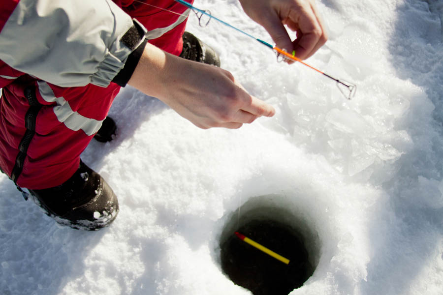 Ice Fishing Trip to Minnesota
