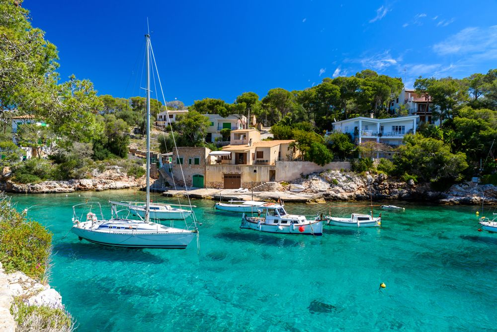 Beautiful Coast of Cala Figuera. Majorca. Spain