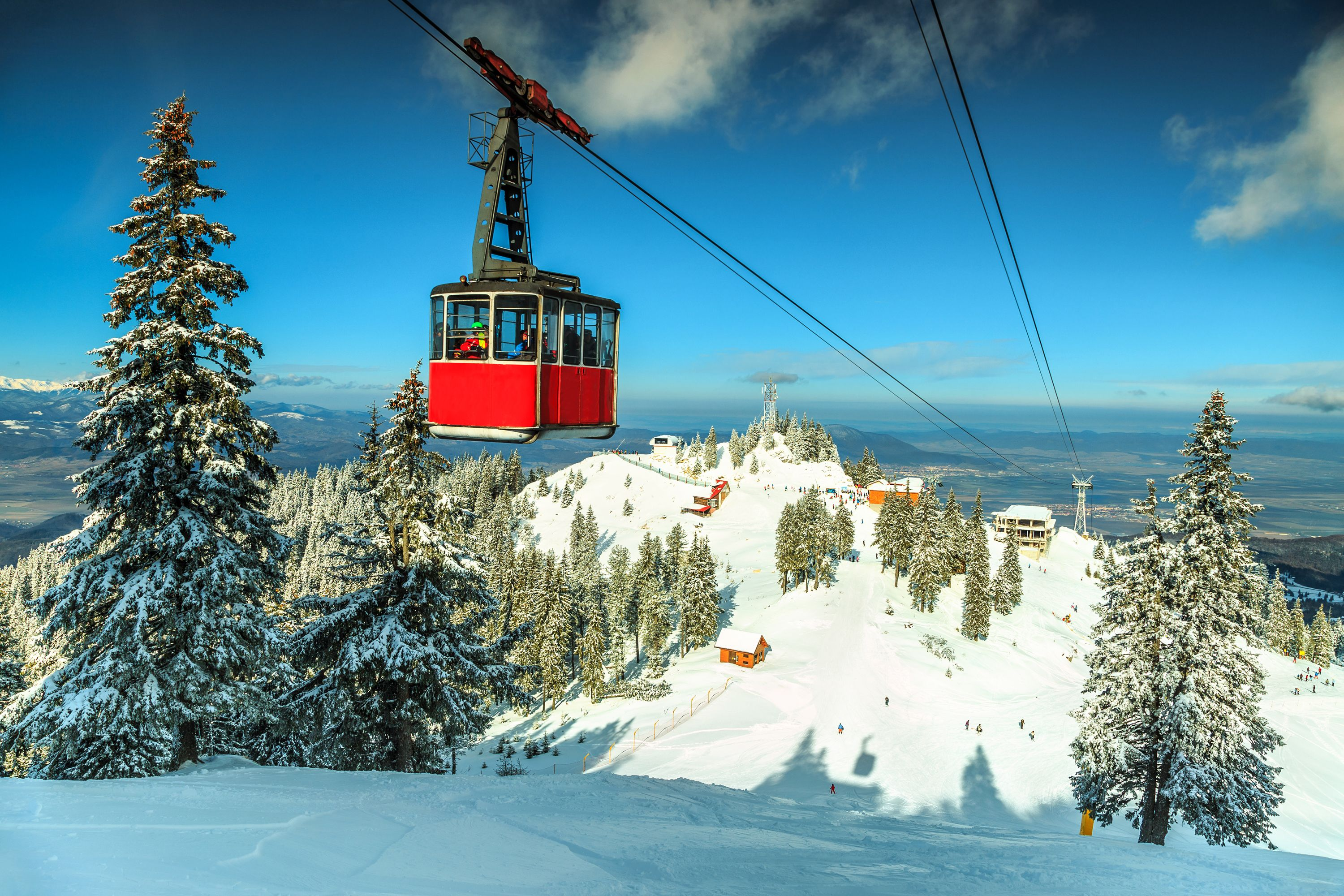 Explore Skiing in Romania