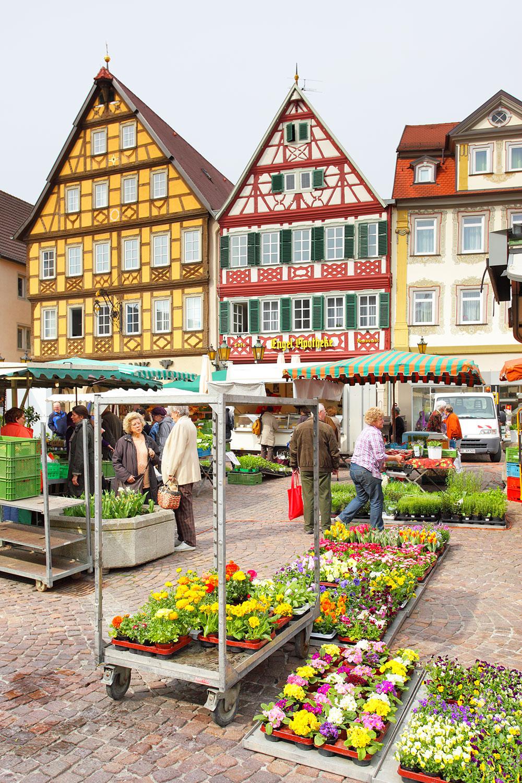 Marketplace of Bad Mergentheim