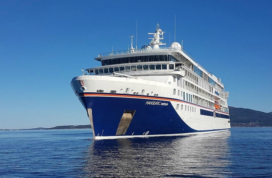 New Hapag-Lloyd Cruises expedition ship enters service