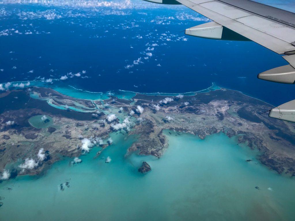 Bimini from plane