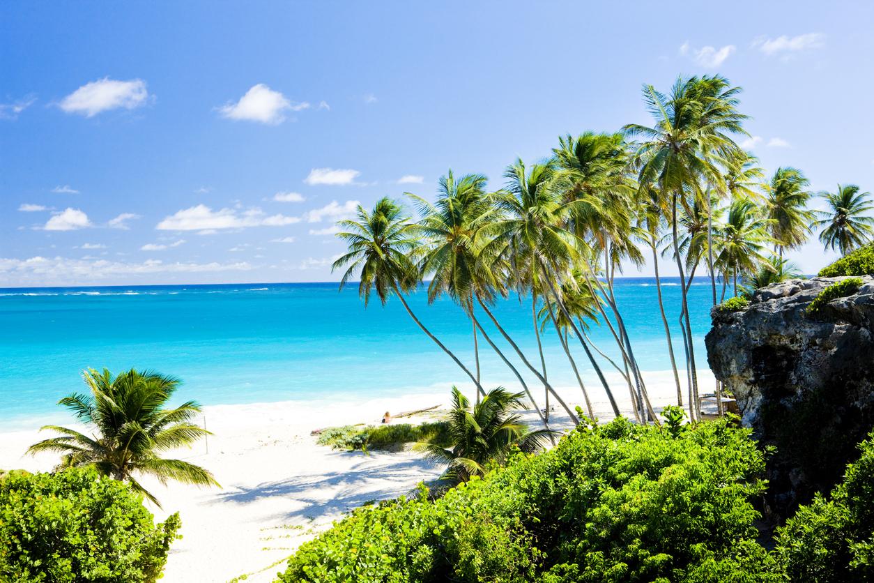 Bottom Bay in Barbados, Caribbean
