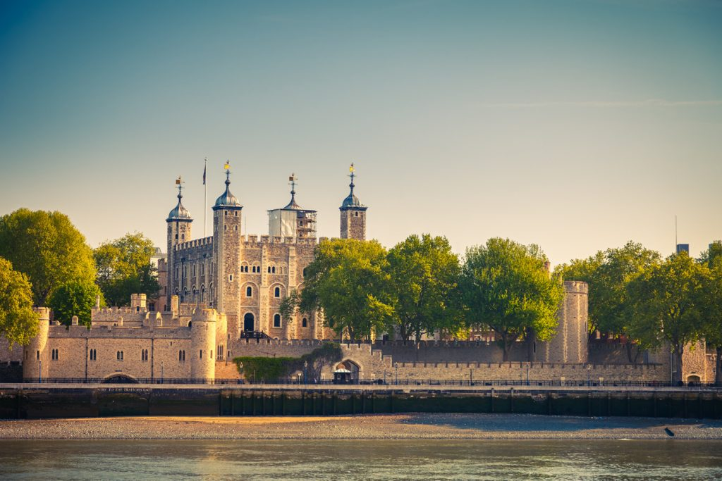 Tower of London from the River Thames