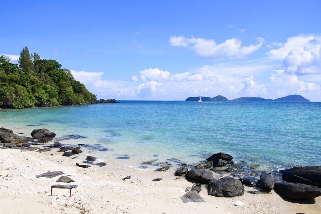 beautiful day at cape panwa beach, Phuket Thailand