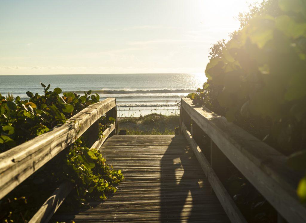 Morning Dawn Patrol at Cocoa Beach
