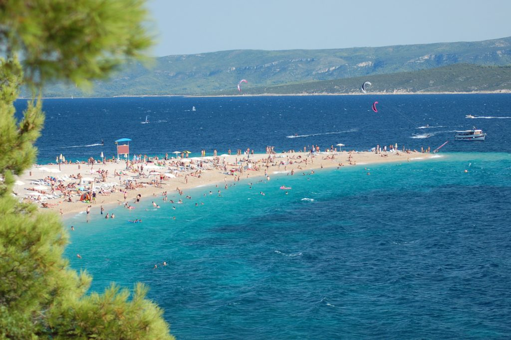 Picturesque view in Golden cape, Croatia