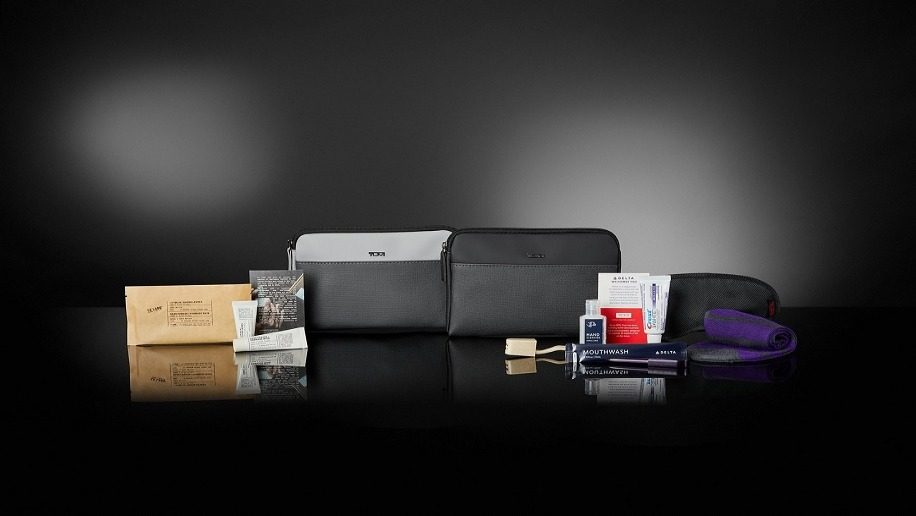 Delta Airlines New Amenity Kits