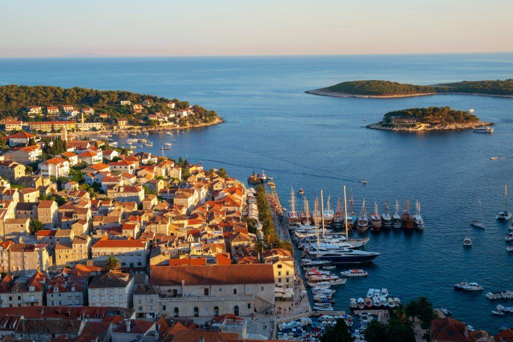 Hvar Island in Dalmatia, Croatia