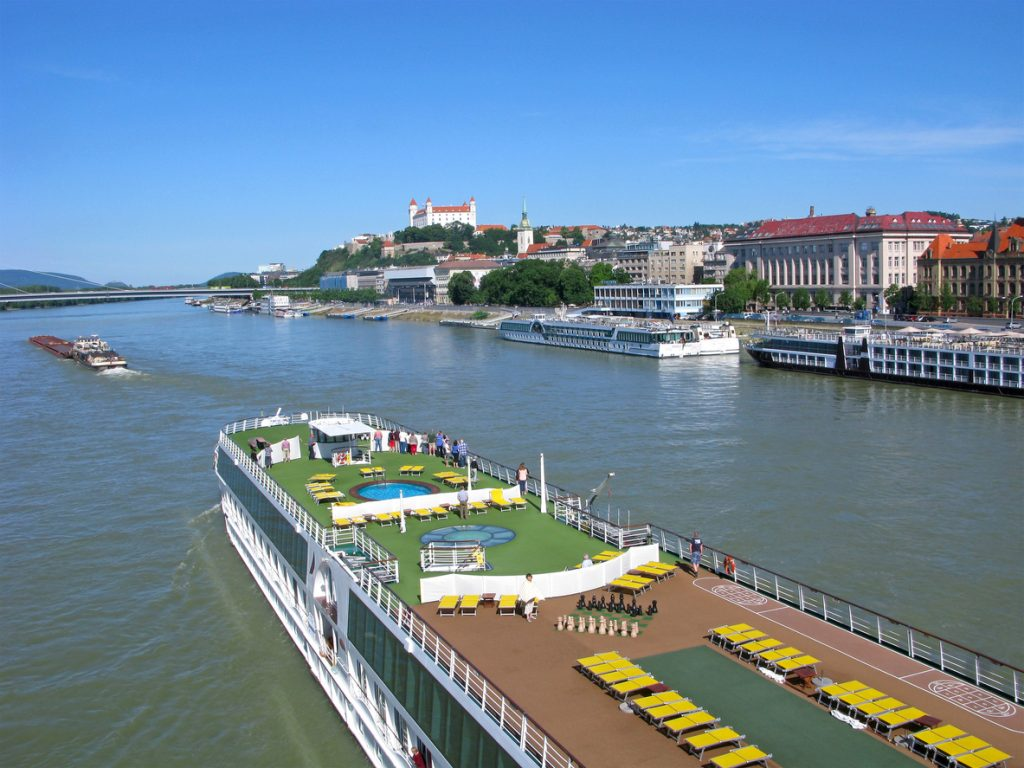 River cruise on Danube