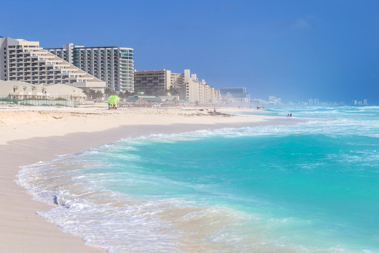 Puerto Morelos, Mexico : Delphinus Beach, Cancun