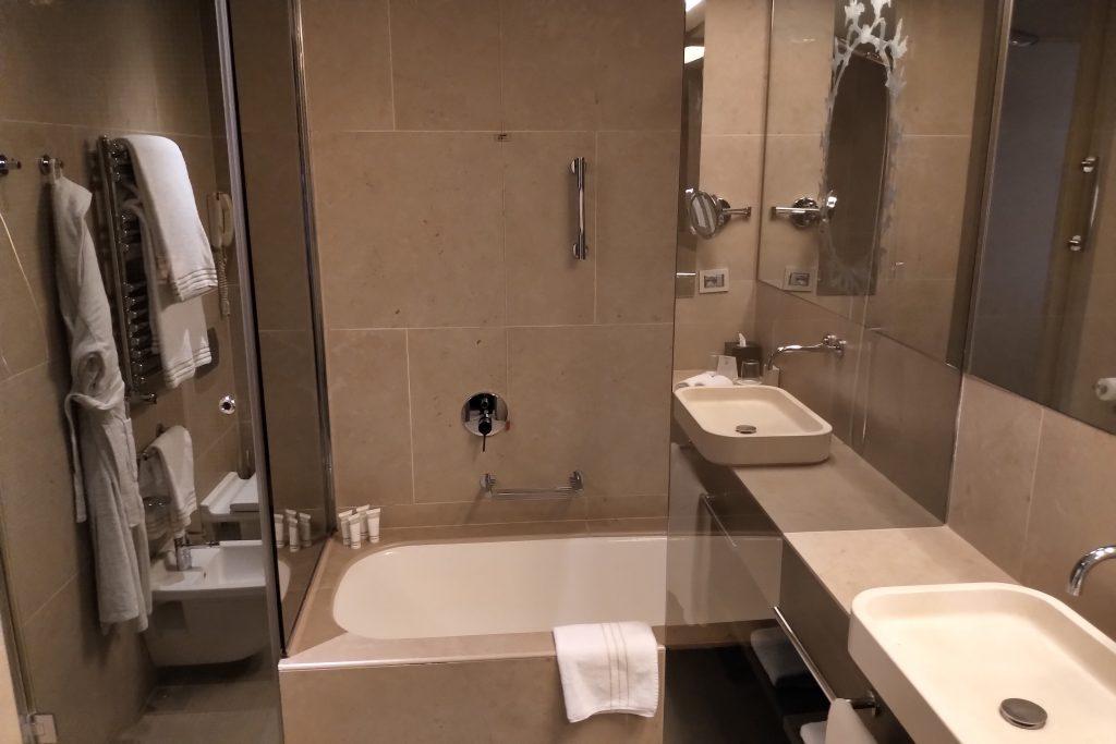 Bathroom in Rosa Grand Hotel