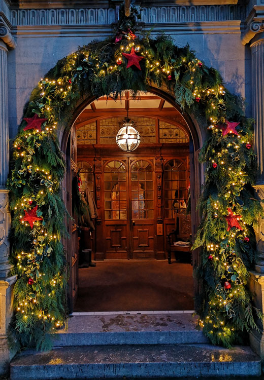 Bovey Castle at Christmas
