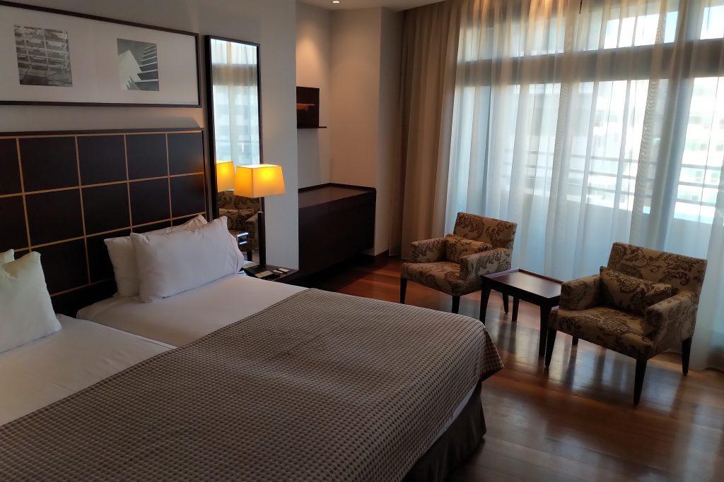 Premier Room in Hotel Eurostars Grand Marina in Barcelona