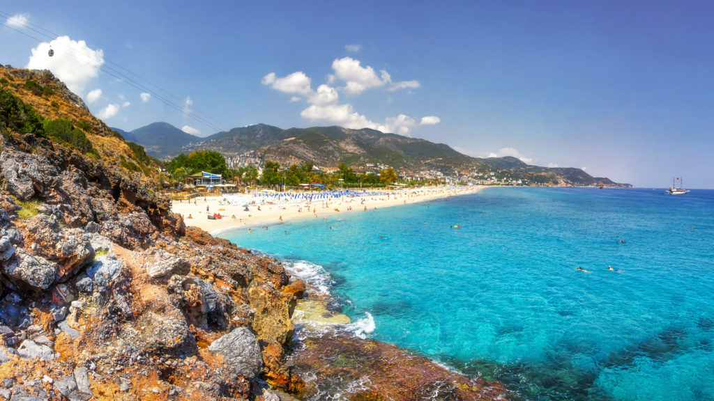 Paradise Bay in Alanya