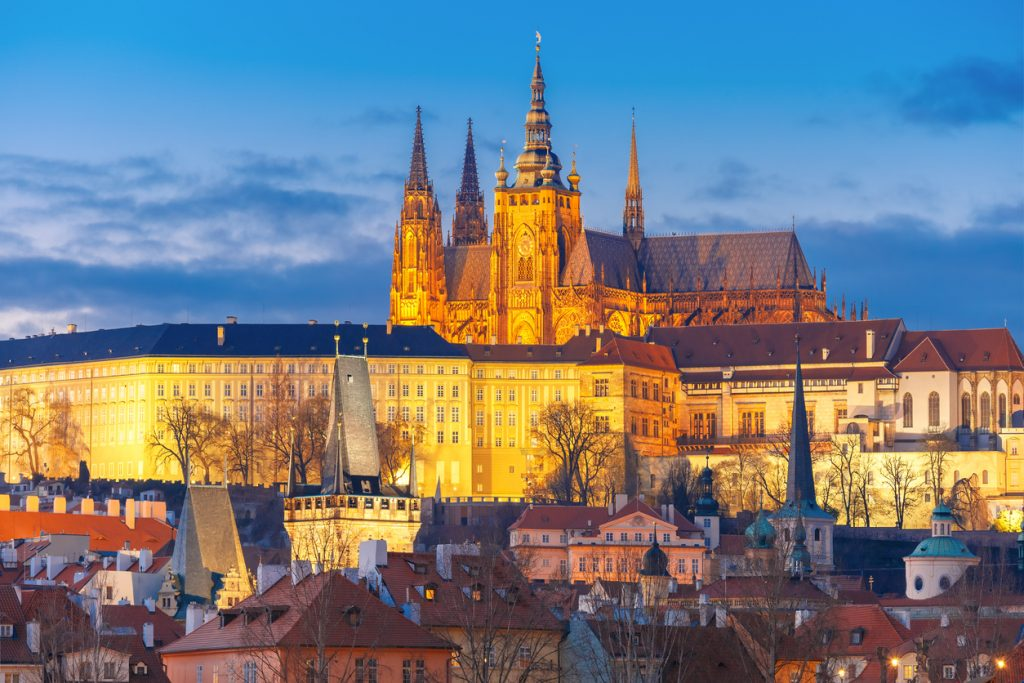Prague Castle and Mala Strana