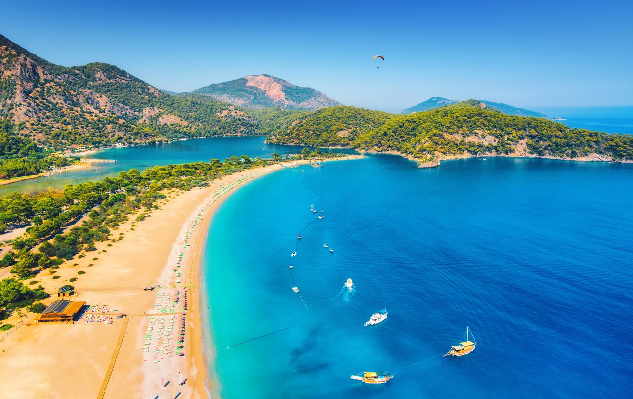Blue Lagoon in Oludeniz, Turkey
