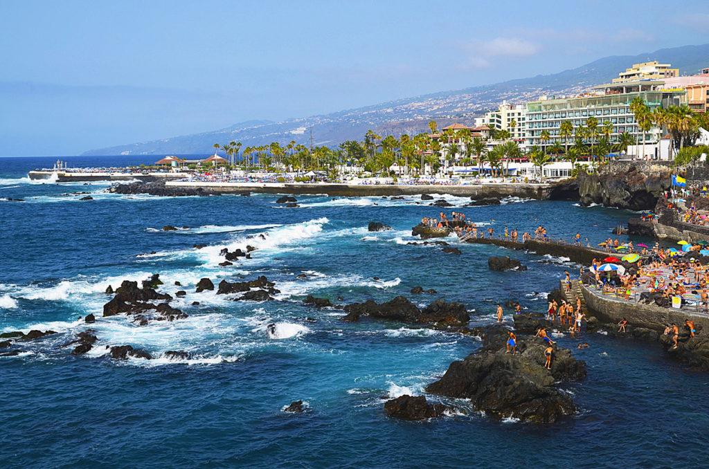 Coastal view of Puerto de la Cruz, Tenerife