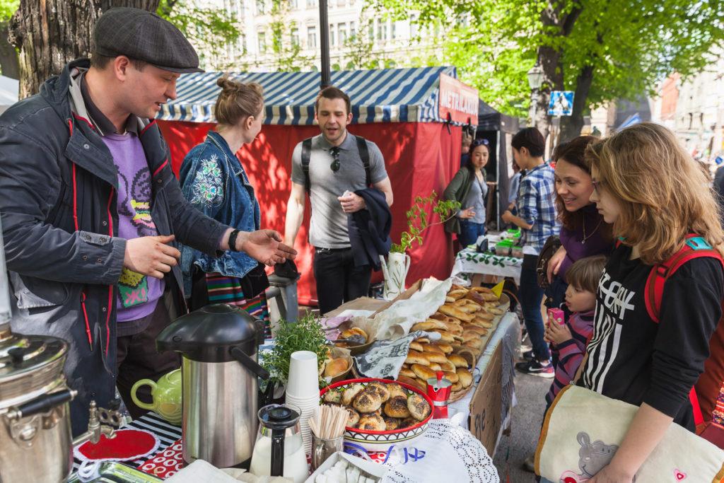 Food Markets in Helsinki
