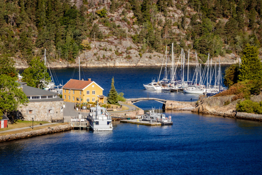 Oslofjord is an inlet in the south-east of Norway