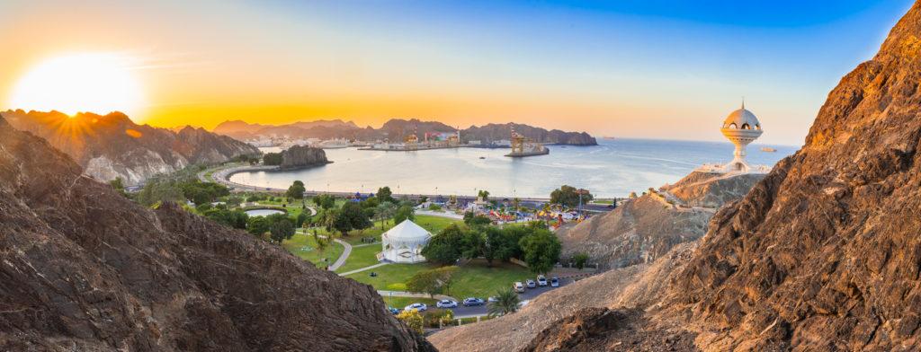 Panorama Muscat in Oman