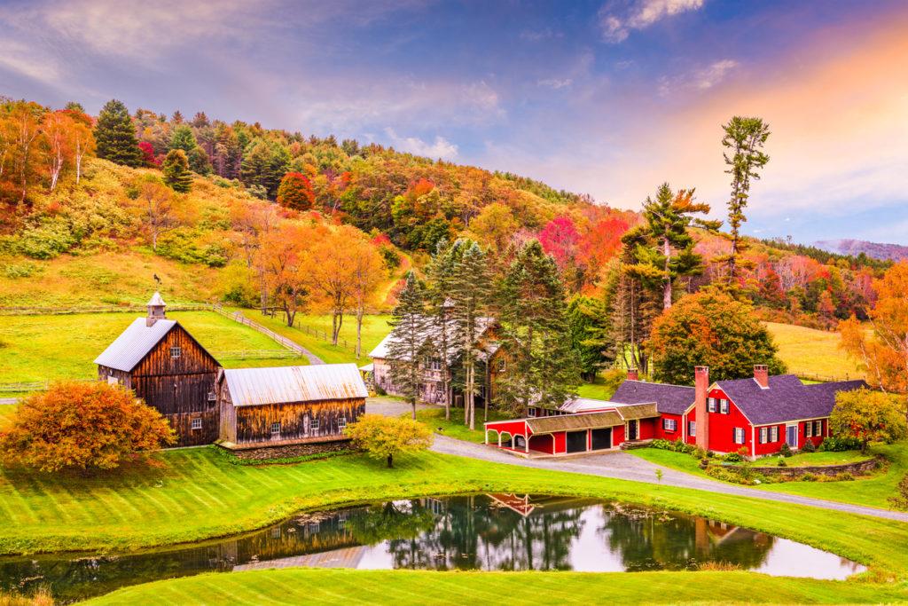 Rural Autumn Vermont
