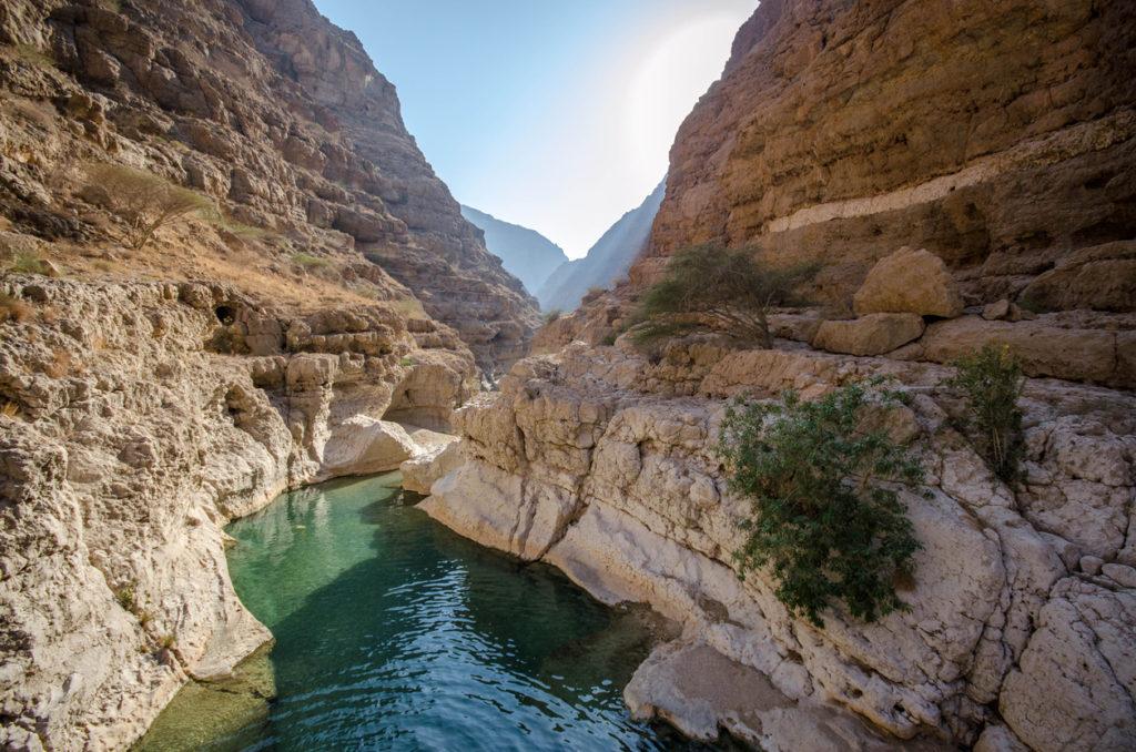 Wadi Shab Natural Pools - Oman