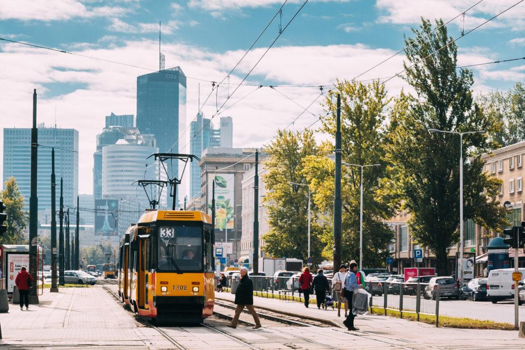 Old Retro Tram