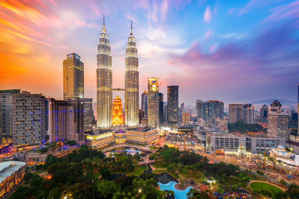 Petronas Towers, also known as Menara Petronas was the tallest buildings in the world from 1998 to 2004