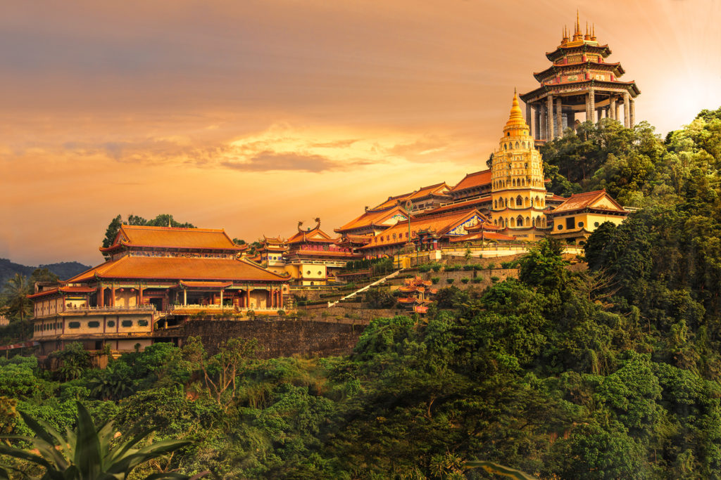 Temple at Penang, Georgetown