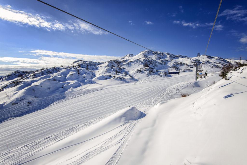 Beautiful view from Vogel Ski resort