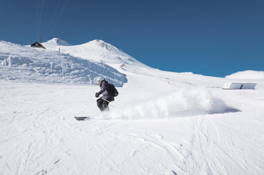 Ski on Mount Elbrus, Russia