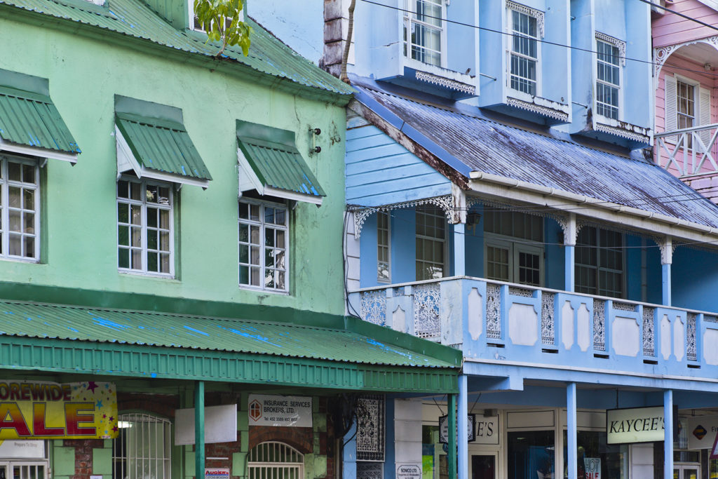 Buildings of Castries, Saint Lucia