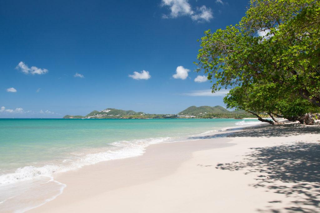 Vigie Beach, St. Lucia.