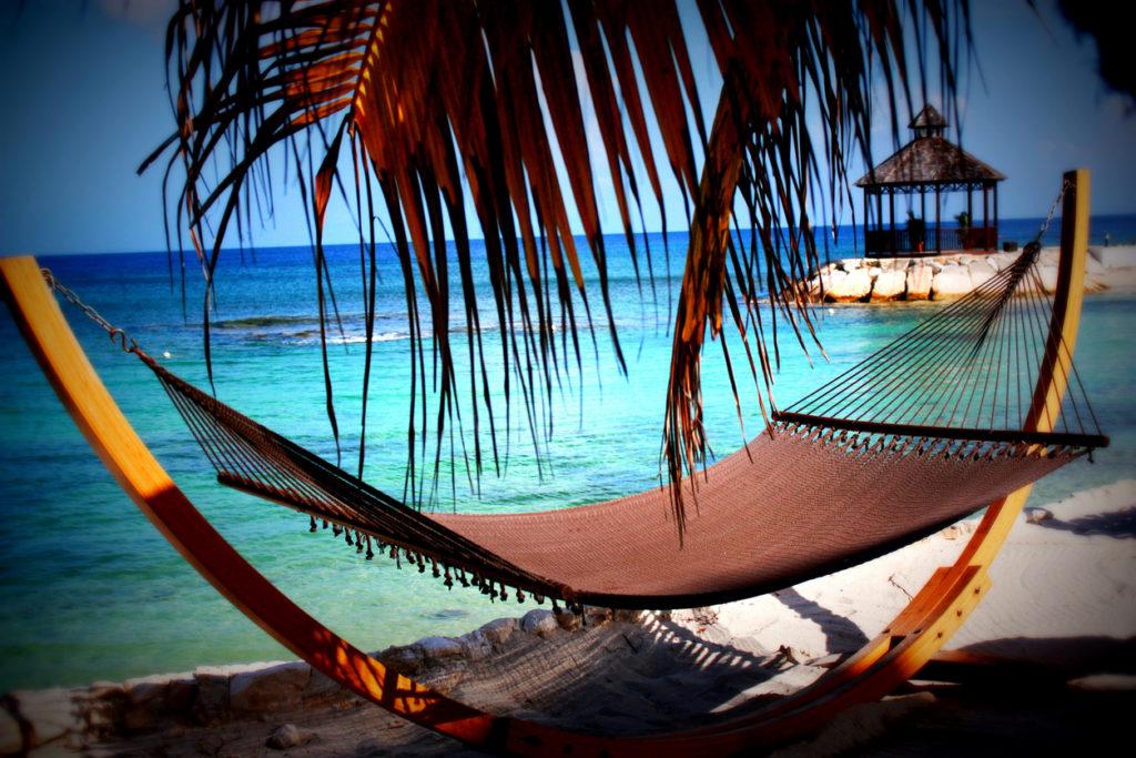 Jamaica Hammock on the Beach
