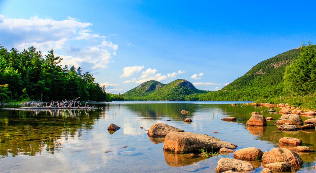 Jordan pond acadia national park