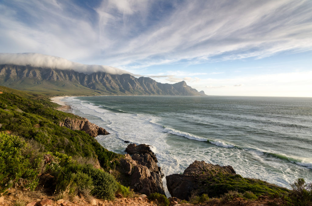 Panorama of the Garden Route, South Africa