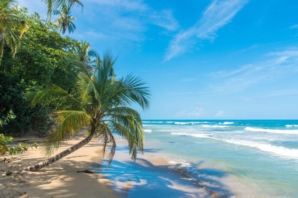 Playa Chiquita - beach close to Puerto Viejo, Costa Rica
