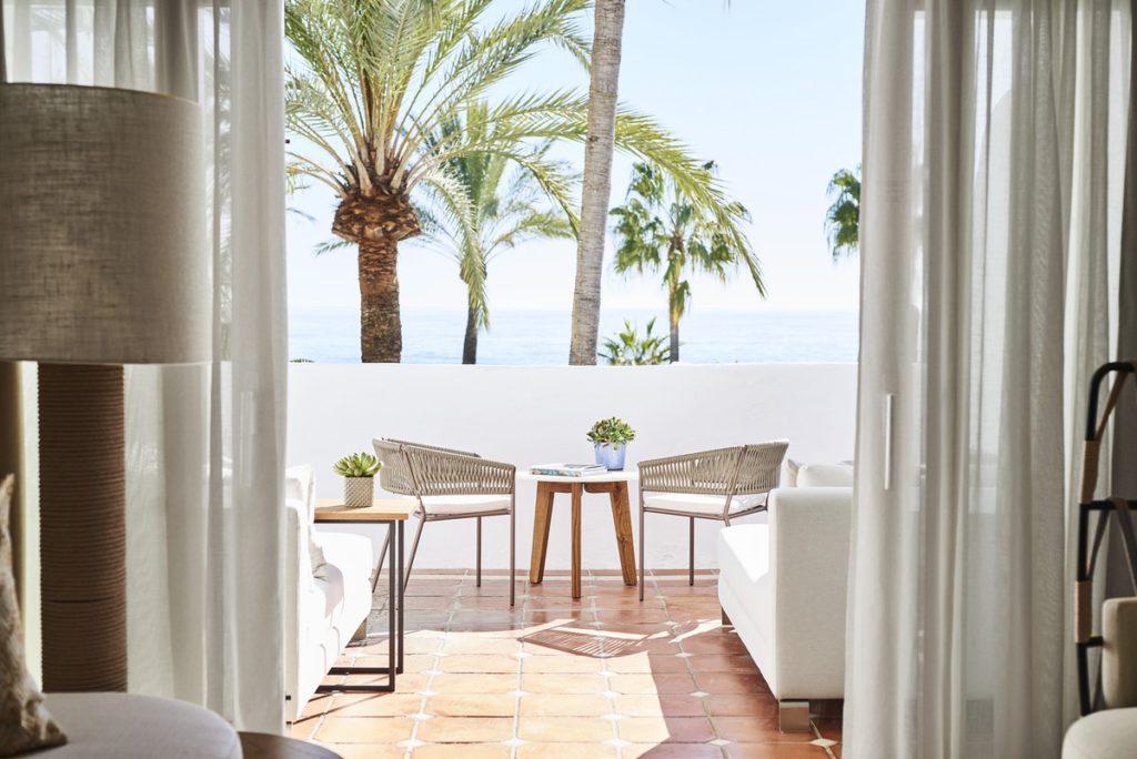 Bedroom Sea View at Puente Romano