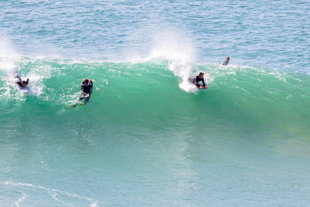 Bodyboarding at Sagres, Algarve