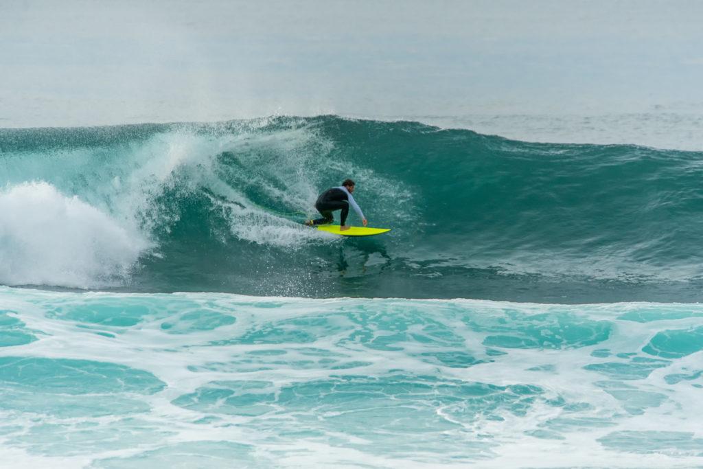 Surfing Coxos Ericeira