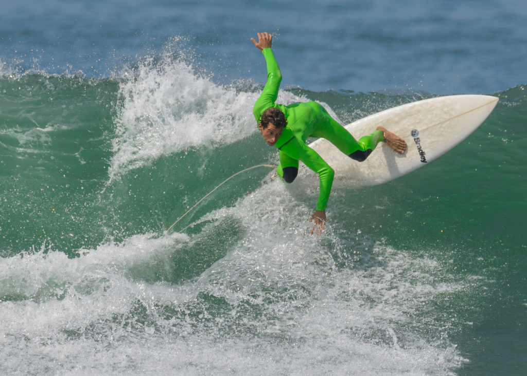 Jeremy Flores Surfing in San Clemente California