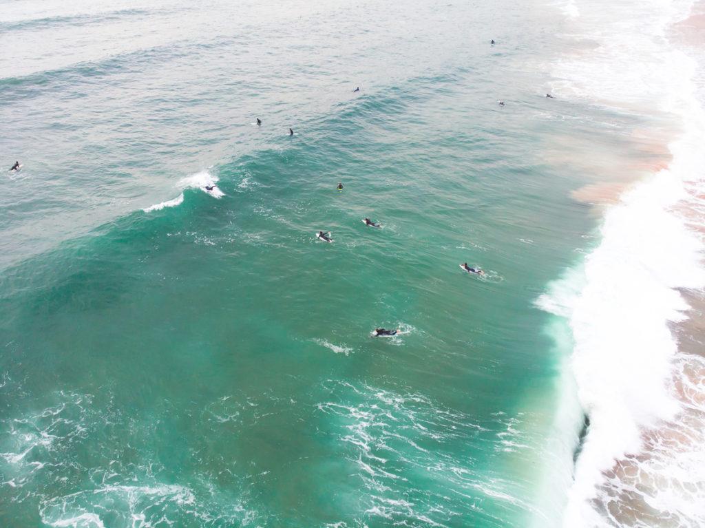 Surfing Praia do Guincho Beach