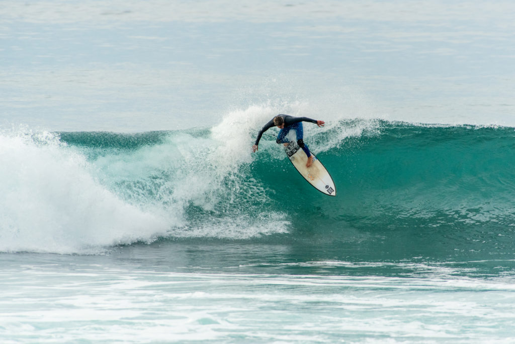 Surfing in Buarcos Figueira da Foz